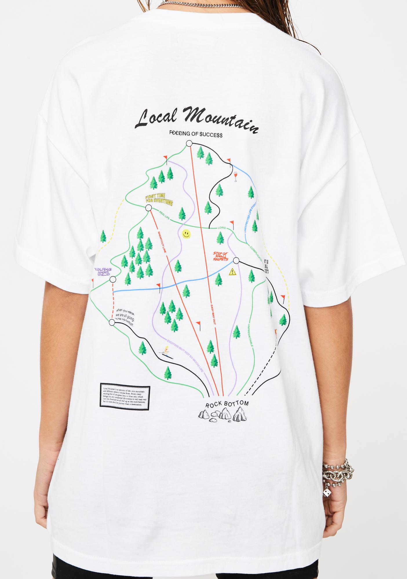 Local Heroes Trail Map Graphic Tee