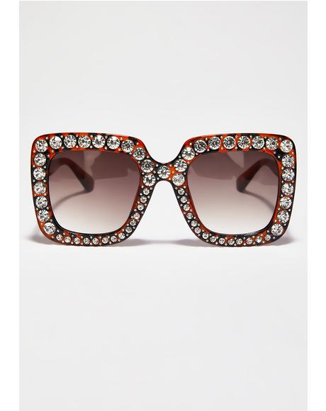 Fierce Feelin' Flossy Sunglasses