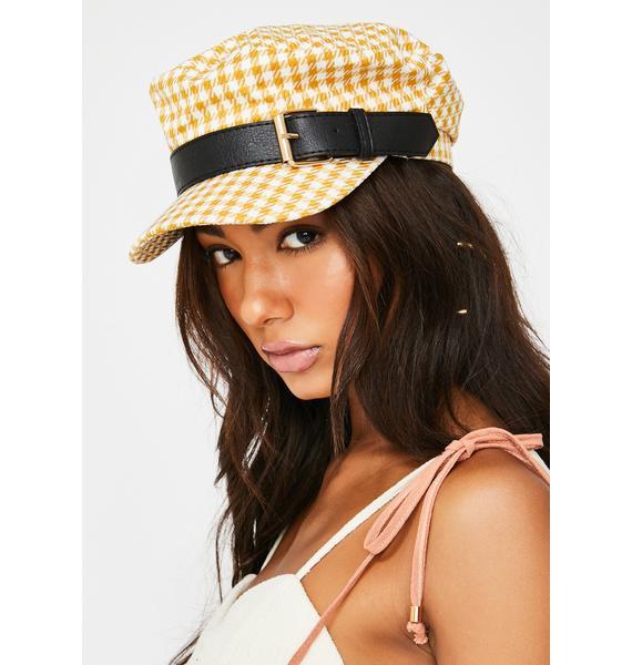 Take A Ride Plaid Hat