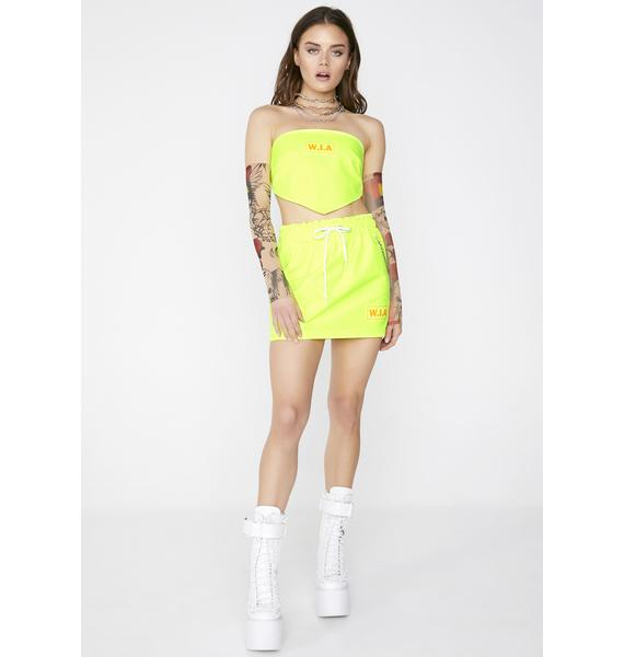 W.I.A Triangle Neon Top