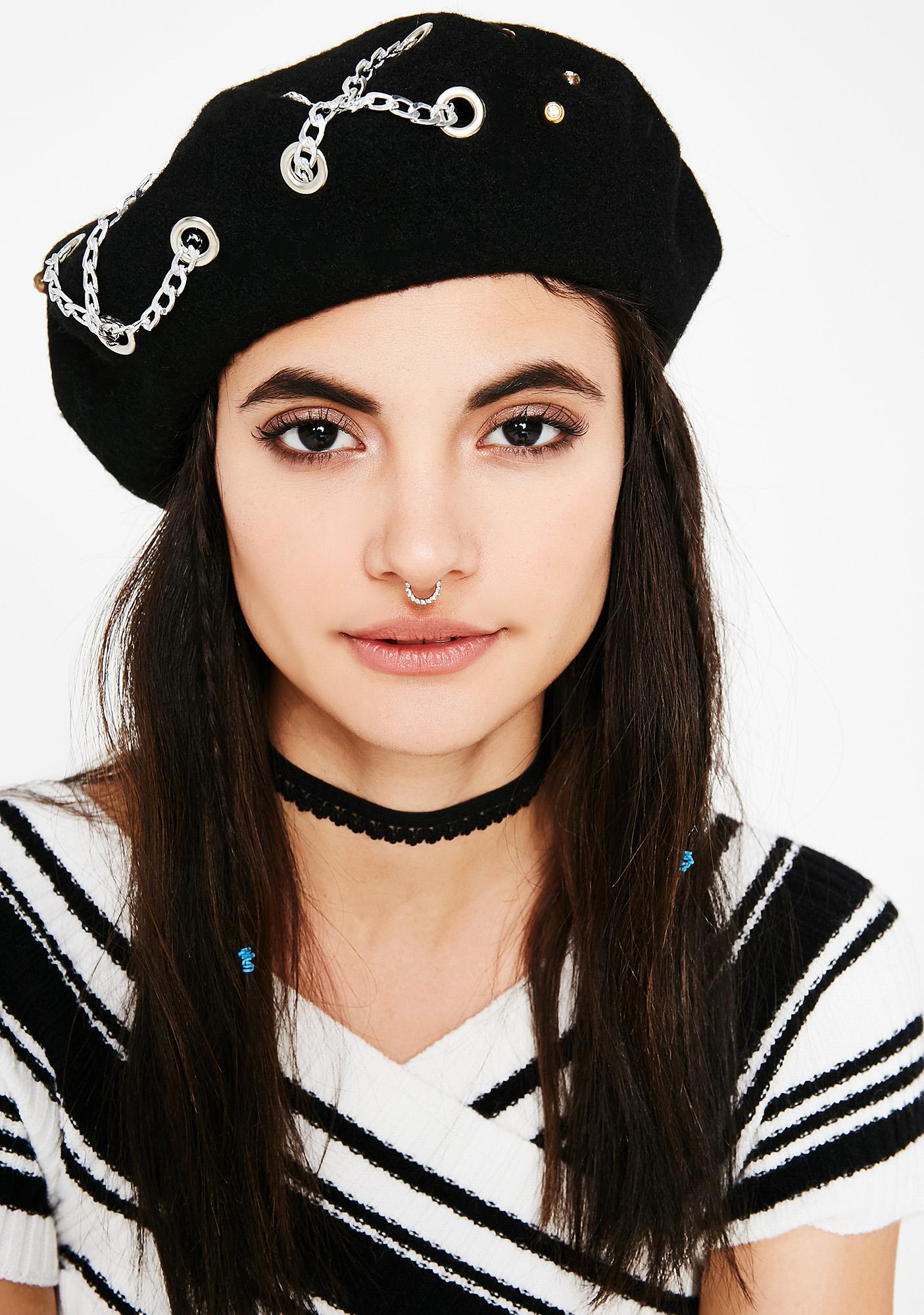 Ink Detention Beret