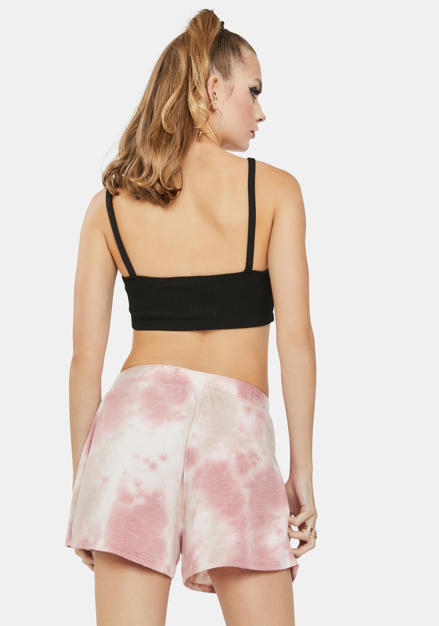 Bailey Rose Rose Tie Dye Lounge Shorts