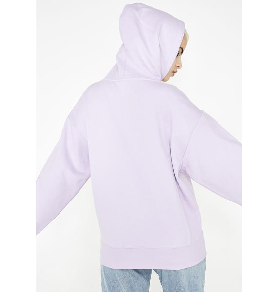 x-Girl Face Sweat Hoodie