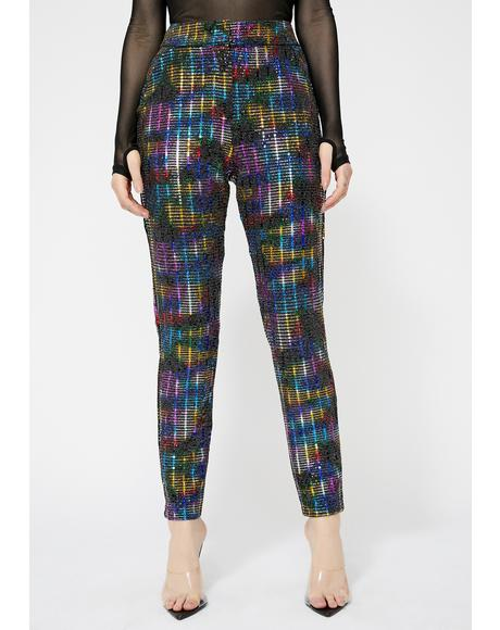 Cosmic Captain Sequin Pants