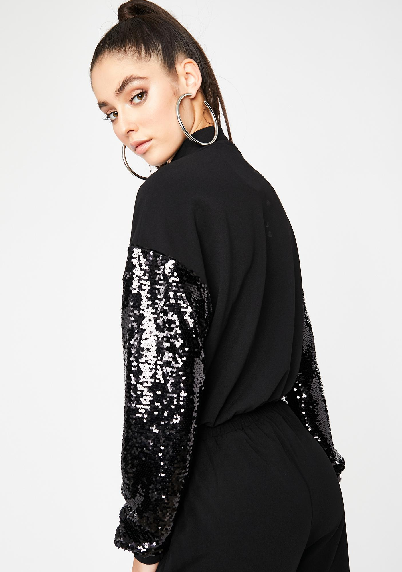 Doin' The Most Sequin Pullover