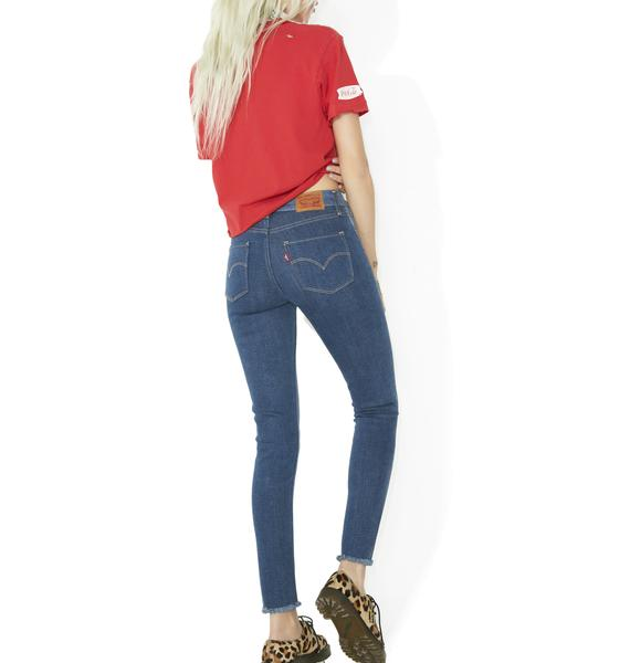 Levis 721 High Rise Skinny Jeans