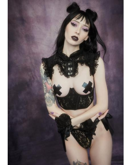 Before Dawn Lace Underbust Corset