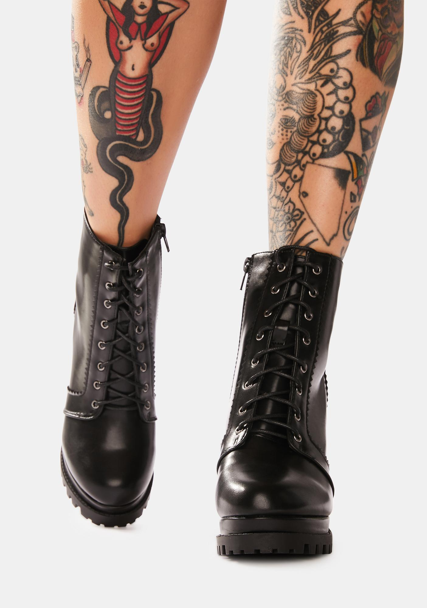 The Cool Crowd Heeled Ankle Boots