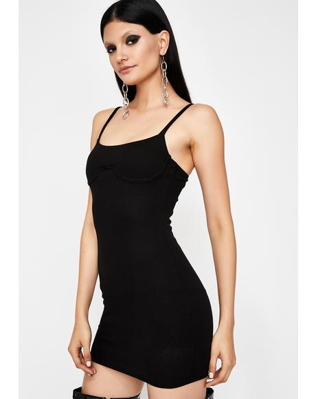 Insta Thot Underwire Dress