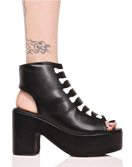 Wishbone Cut-Out Boots