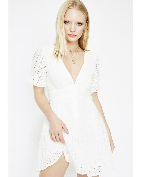 Make Way Eyelet Dress