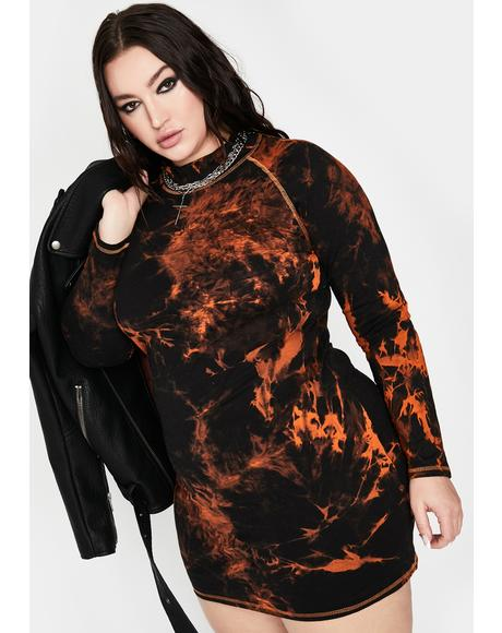 Divine Fallen Phoenix Bodycon Dress