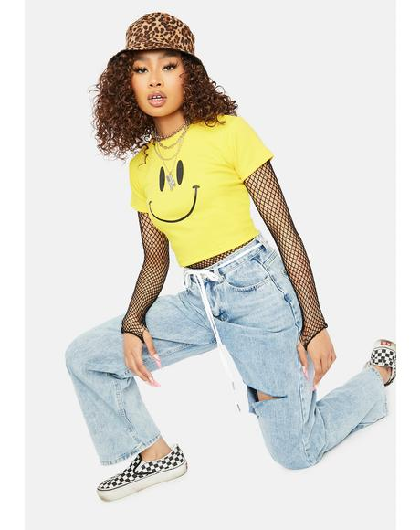Smile Back Graphic Tee