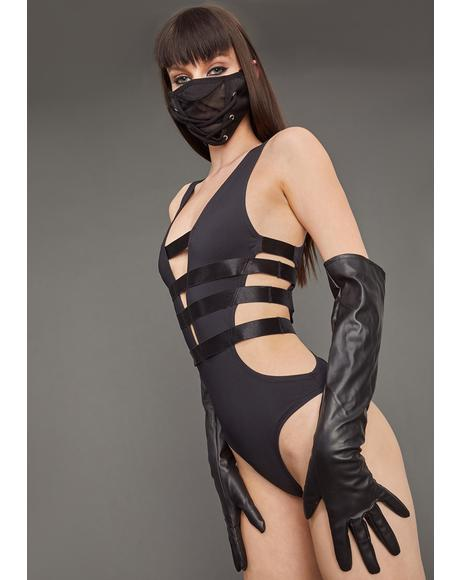 Triple X-Rated Bandage Bodysuit