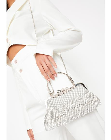 Rich Entitlement Rhinestone Purse