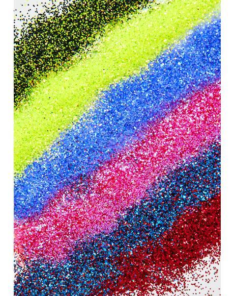 Love And Despair Glitter Set