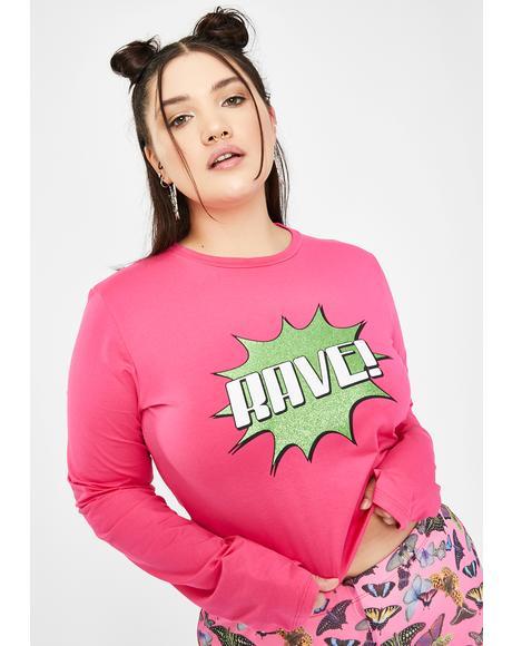Miss Rave Banger Graphic Tee