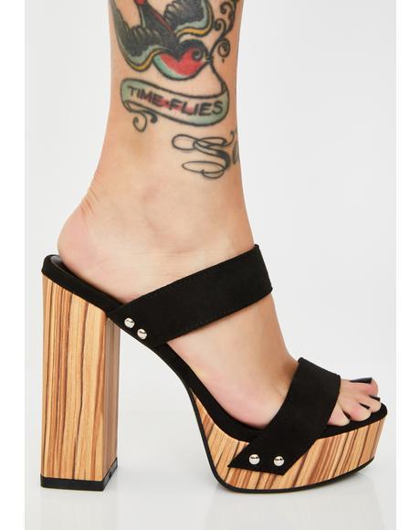 Fifth Avenue Flirt Platform Heels