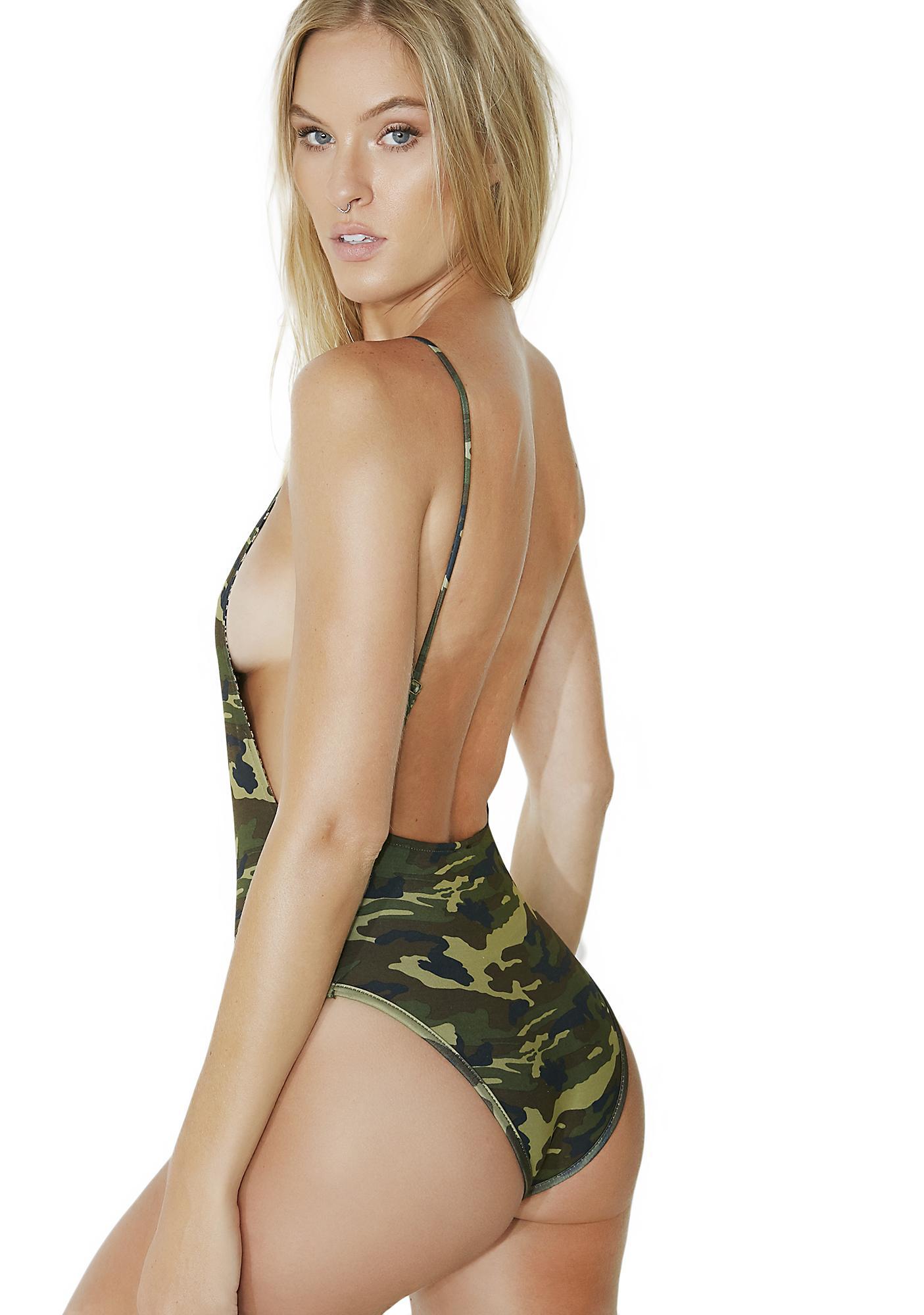 Jungle Cat Reversible Bodysuit