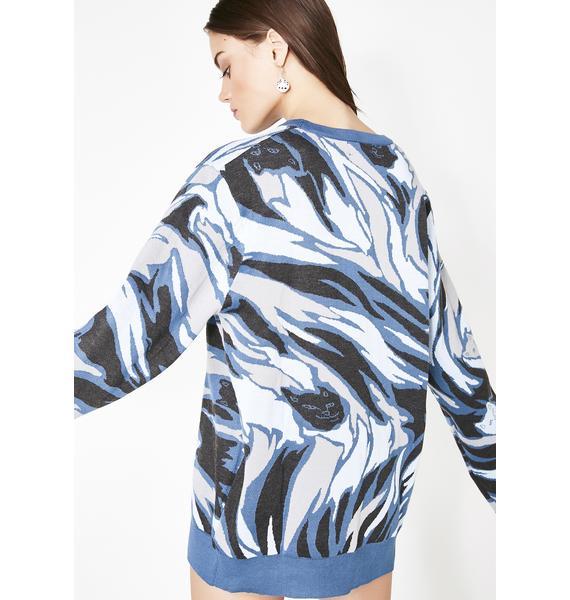 RIPNDIP Tiger Nerm Knit Sweater
