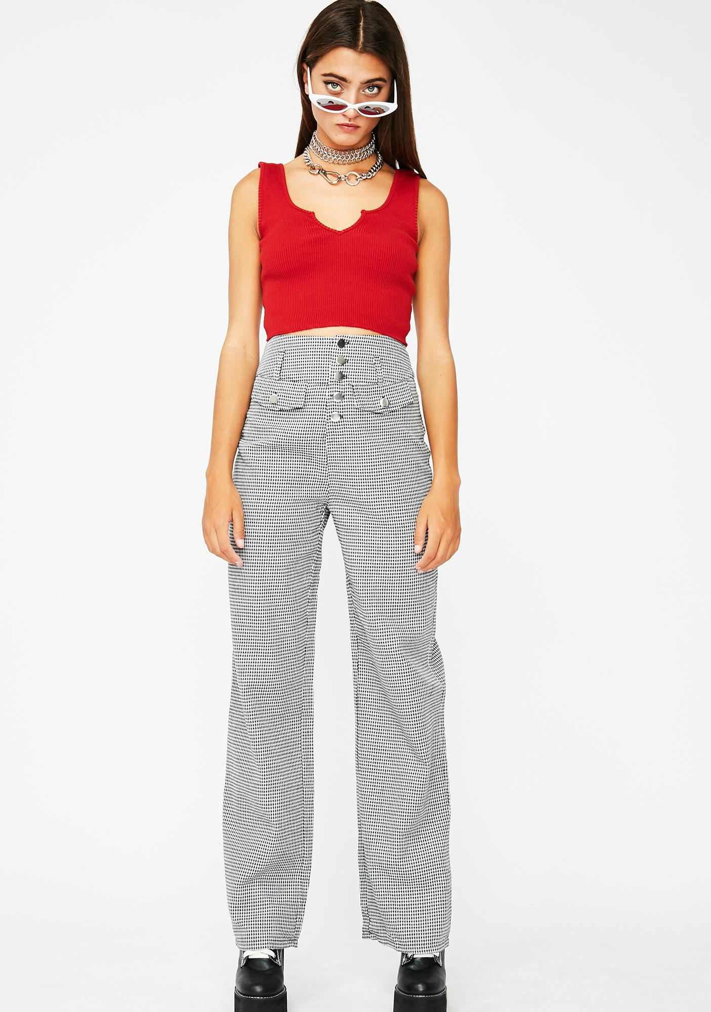 Siren Basic Finesse Crop Top