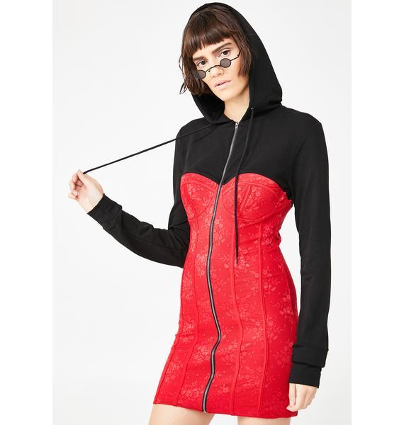 Kiki Riki Fashion Killa Hooded Dress