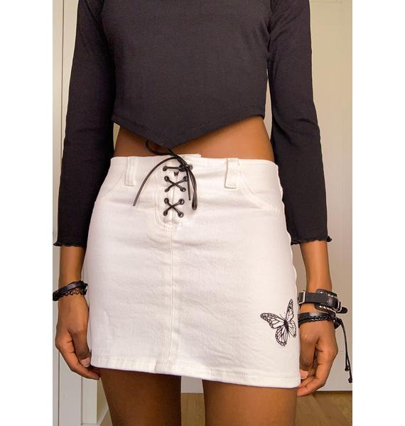 dELiA*s by Dolls Kill Cruise Control Mini Skirt