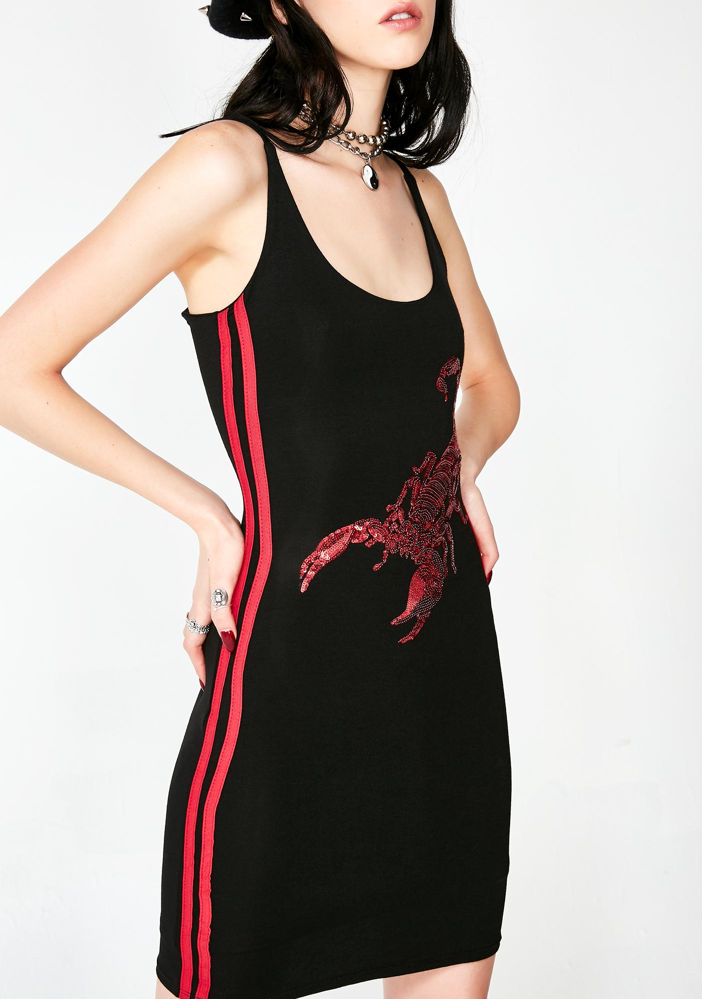 O Mighty Scorpion Mini Dress