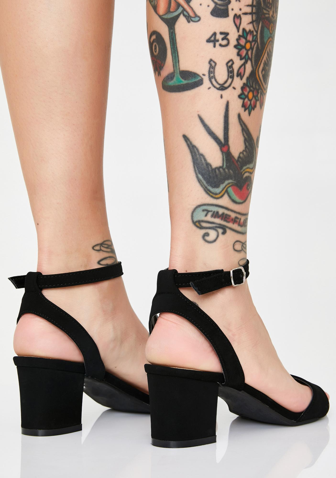Bragging Rightz Block Heels