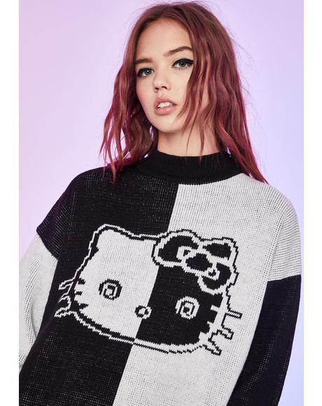 Dramatic Daze Oversized Sweater