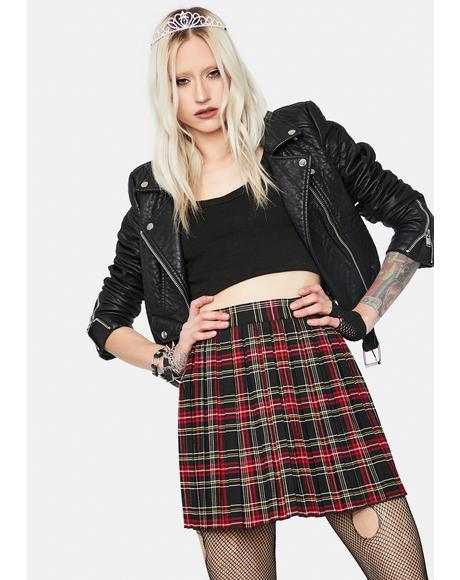 Pretty Young Thing Plaid Mini Skirt
