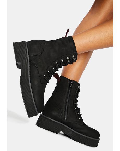 Mattie Suede Boots