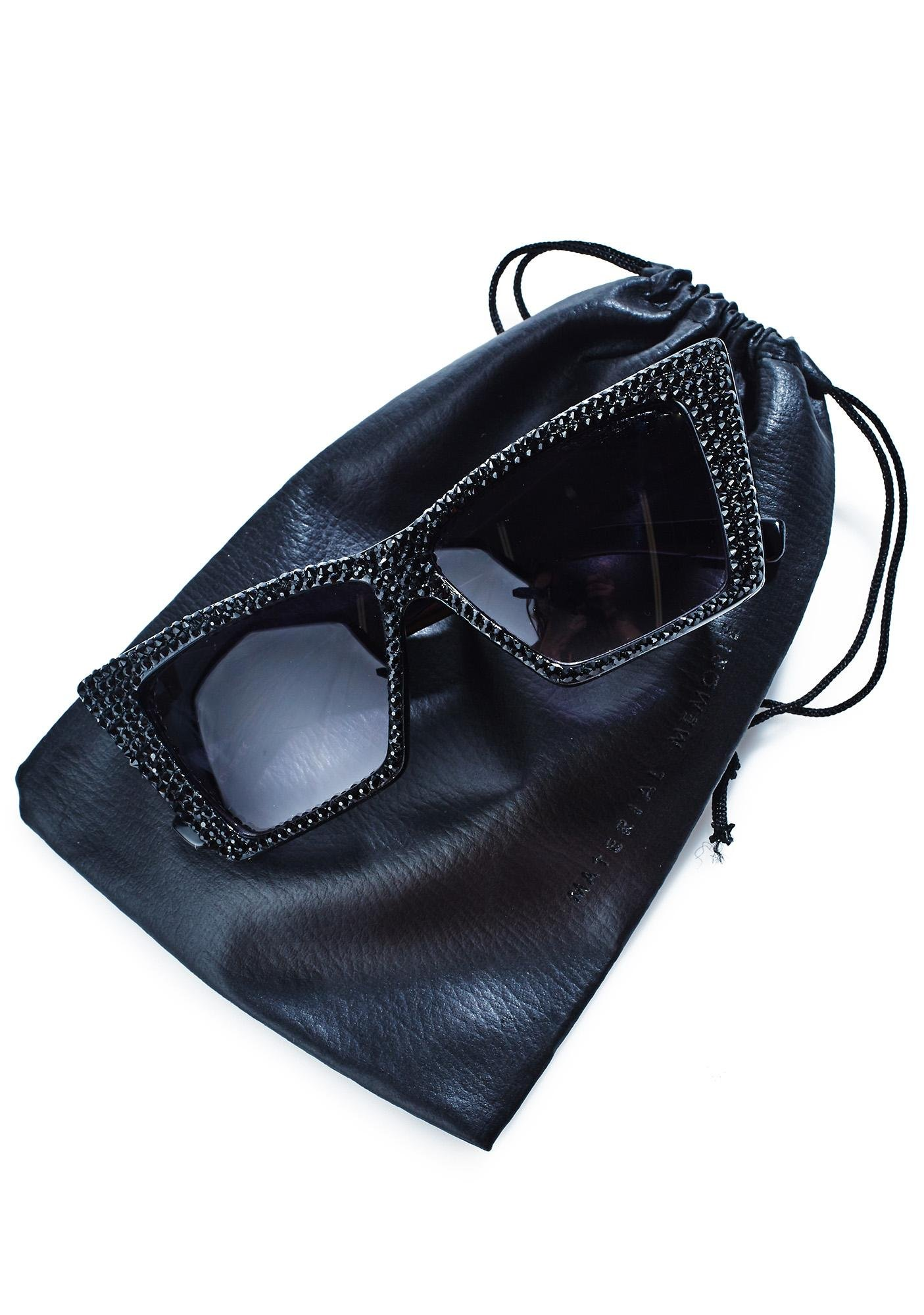 Material Memorie Swarovski Cat Eye Sunglasses