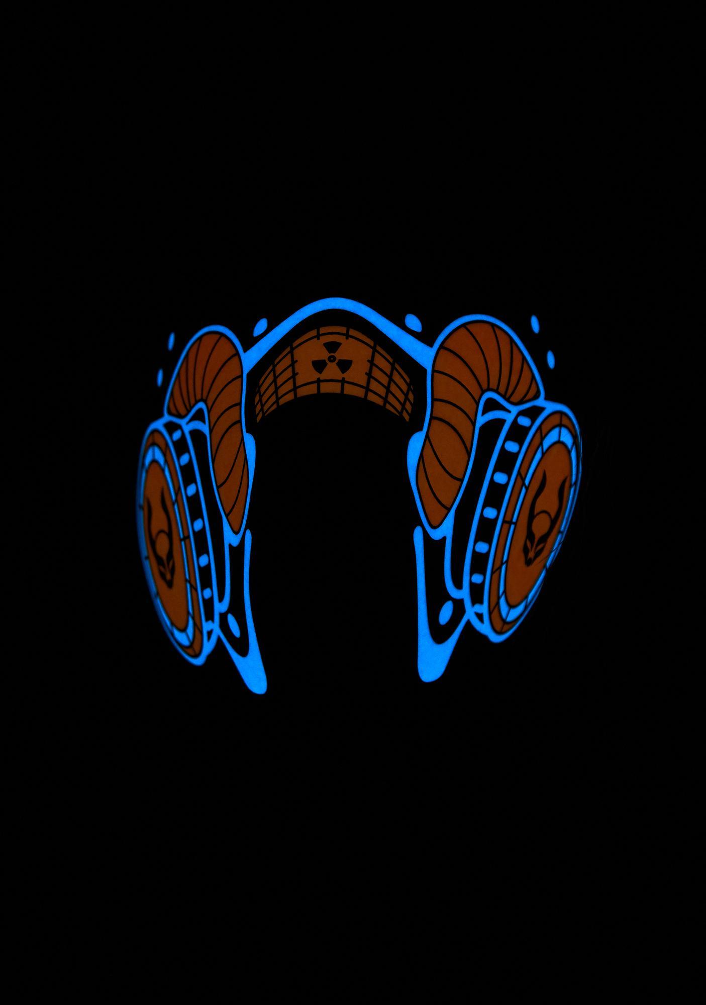 Cyberdog Radioactive Light Up Mask