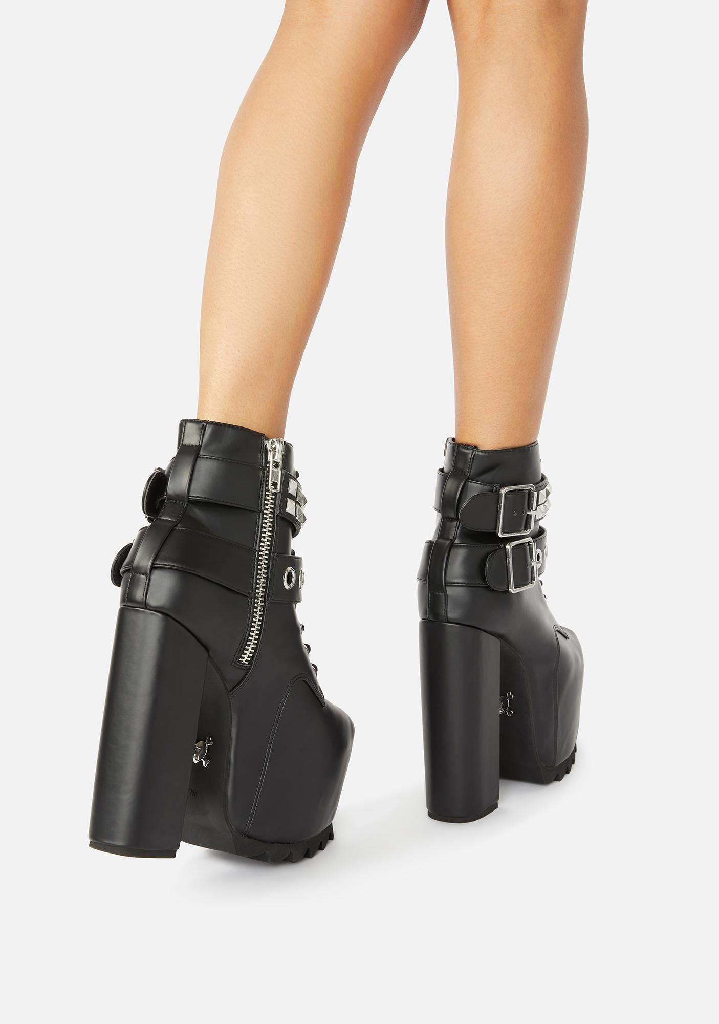 Charla Tedrick Nolita Platform Boots
