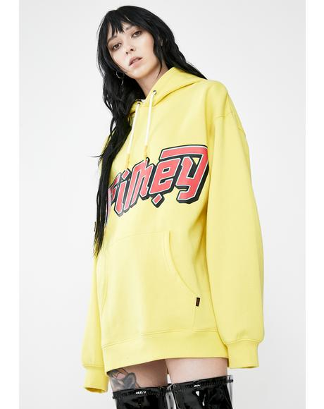 Lime Yanga Hoodie Sweatshirt