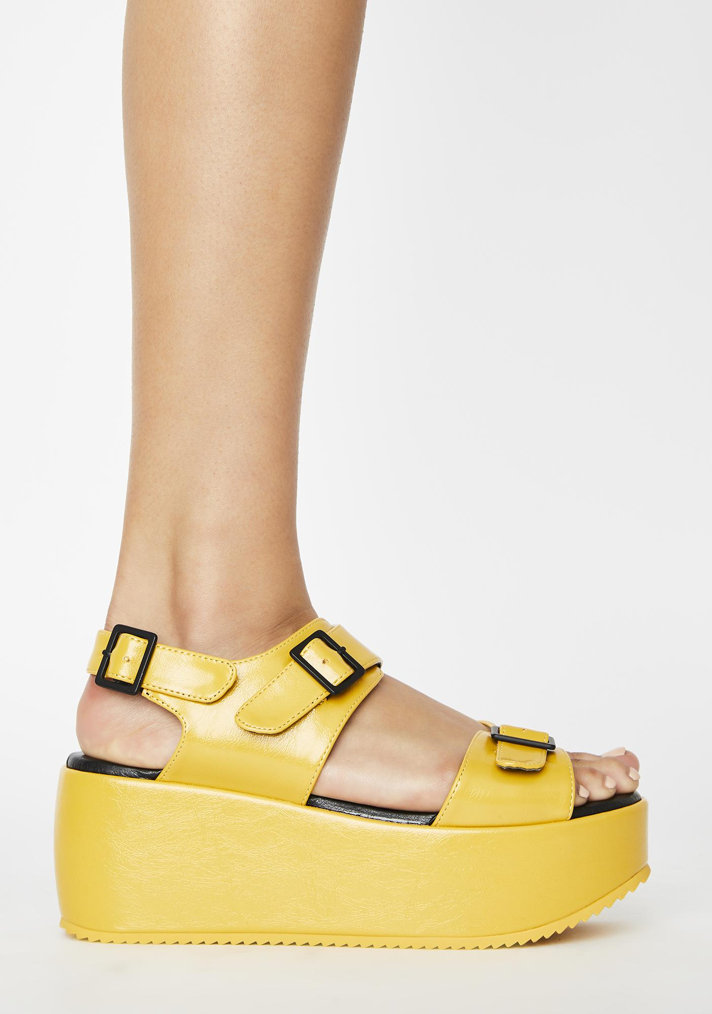 Rebels Soliel Lori Platform Sandals
