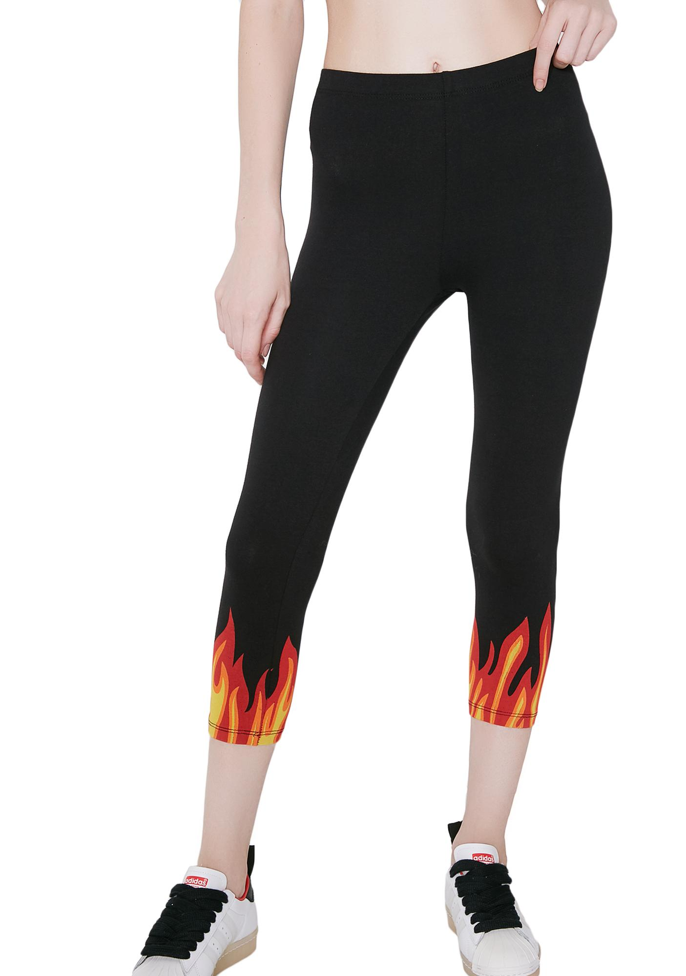 Up In Flames Leggings