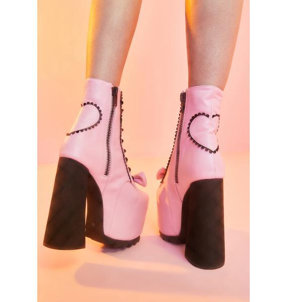 Sugar Thrillz Primadonna Life Platform Boots