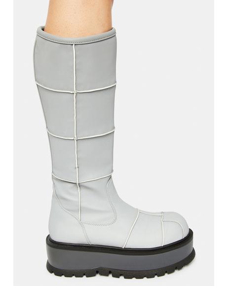 Cerberus Reflective Platform Boots
