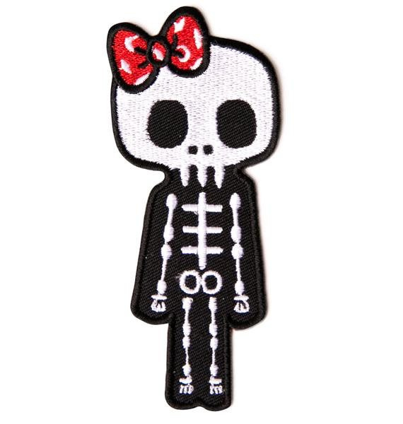 Mizz Skellington Patch