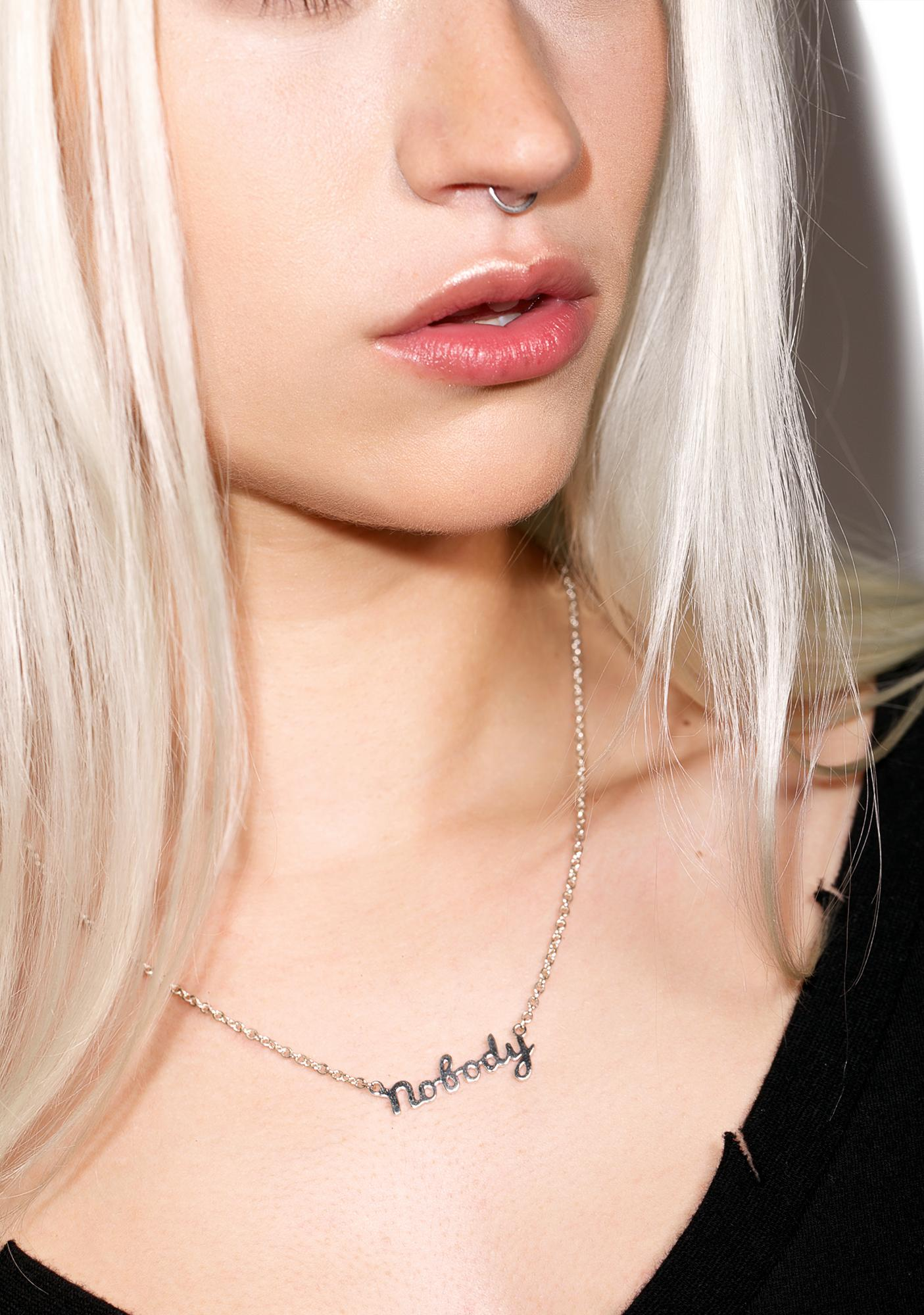 Disturbia Nobody Necklace