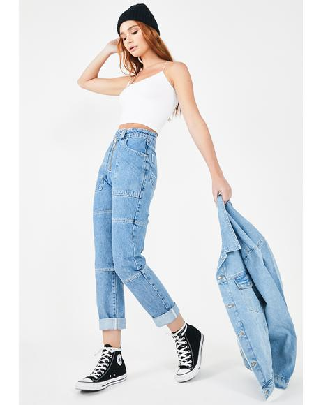 Light Blue Pride Jeans
