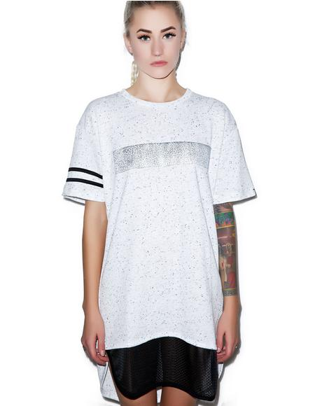 Double-Header Contrast T-Shirt