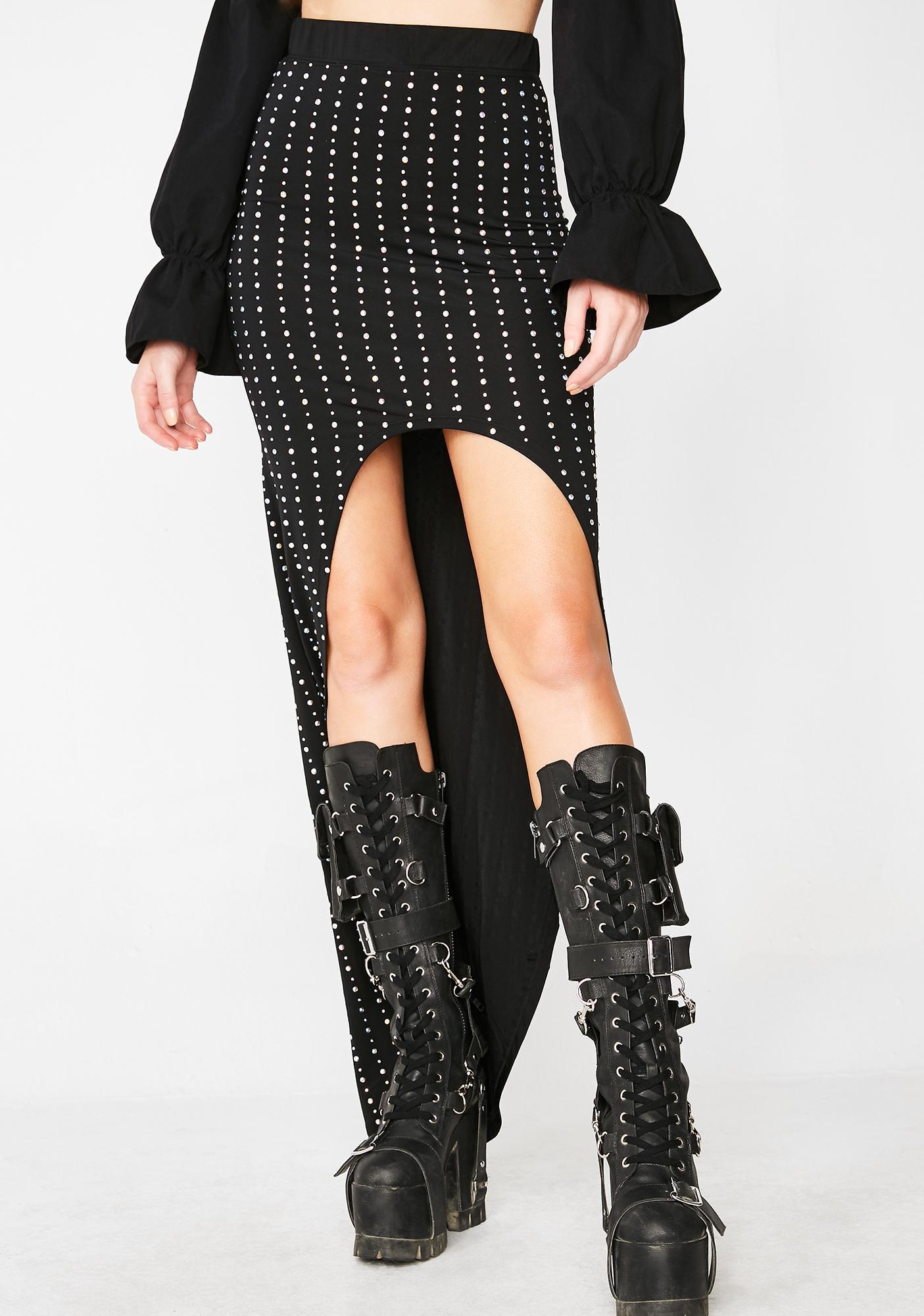 Kiki Riki Mischievous Mistress High-Low Skirt