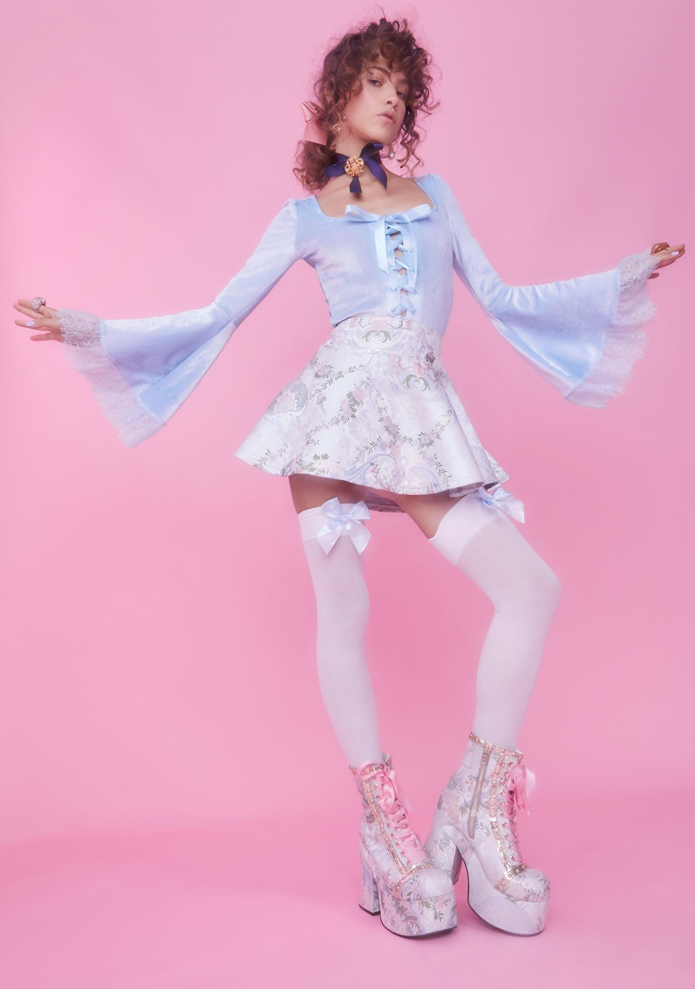 Sugar Thrillz Dreams Do Come True Velvet Top