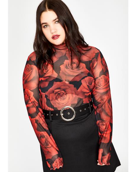Found Somebudy To Luv Sheer Top