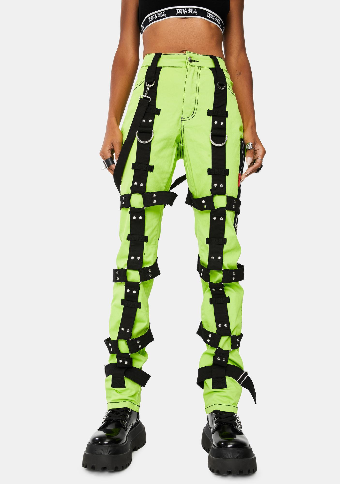 Tripp NYC Lime Harness Pants