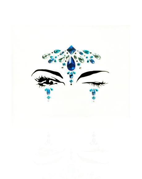 Blue Face Gem Set