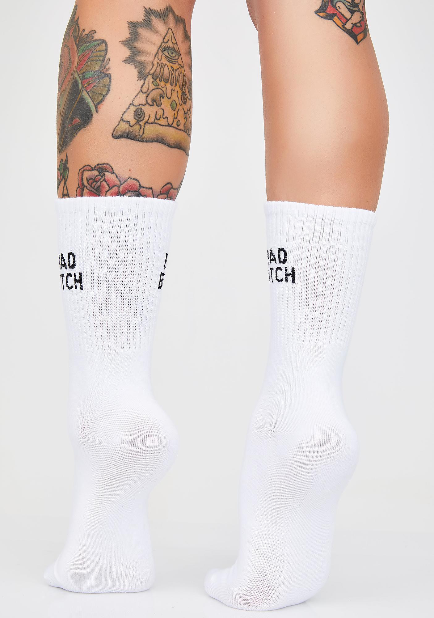 BB Alert Crew Socks